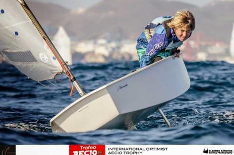 Nacho Dávila, del Club Nàutic Vilassar irá al campeonato del mundo Optimist