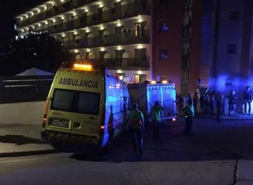 Un pequeño incendio obligó a desalojar 500 clientes de un hotel de Calella
