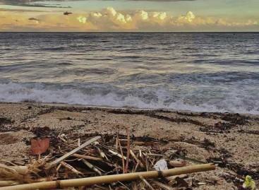 Seis playas con bandera roja a causa de la suciedad provocada por las tormentas
