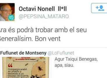 El PSC pide a un dirigente de CDC de Mataró que se excuse por comparar Txiqui Benegas con Franco