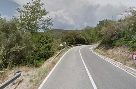 Un vecino de Premià de Mar fallece en un accidente en moto en Arenys de Munt