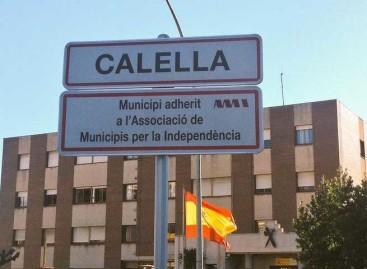 La Junta Electoral pide a Calella que retire los rótulos de la AMI de la Nacional II