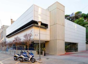 Invierten 28.000 euros para instalar placas solares en el cuartel de la policía de Calella