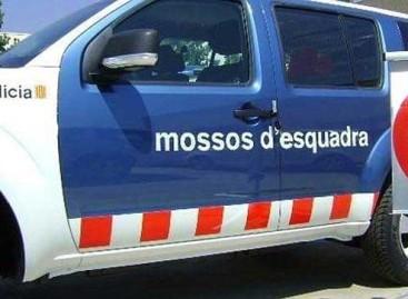 Un vecino de Pineda es detenido tras ser perseguido por la C-32 y estrellarse en Sant Vicenç de Montalt