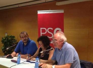 El PSC alerta en Mataró que una Catalunya independiente no podría recaudar impuestos