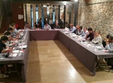 Reunión extraordinaria de la AMI, ACM, ANC y Òmnium en Argentona para apoyar a Mas