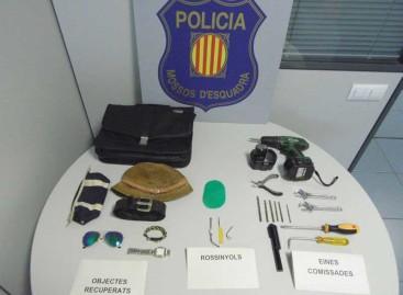 Ingresa el prisión el autor de varios robos de viviendas en Malgrat de Mar