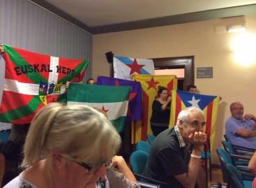 Tensión en Vilassar de Dalt por una moción en defensa de la unidad de España