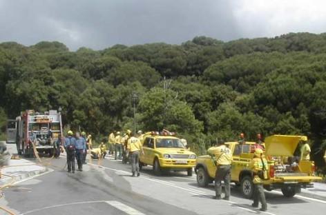 La temporada de incendios forestales se cierra con apenas 2'6 hectáreas destruidas en el Maresme