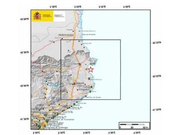 Un terremoto en l'Escala es percibido en la costa del Maresme