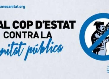 """Califican de """"golpe de Estado"""" la intervención del Hospital de Mataró por parte de la Generalitat"""