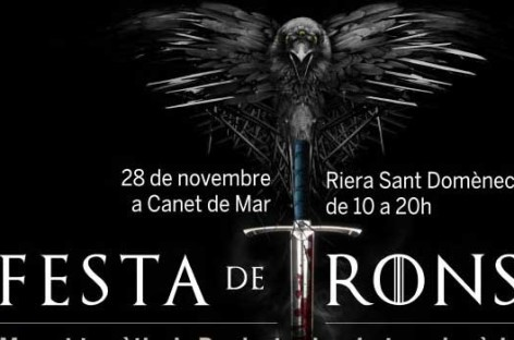 Canet de Mar celebra su primera Fiesta de Tronos