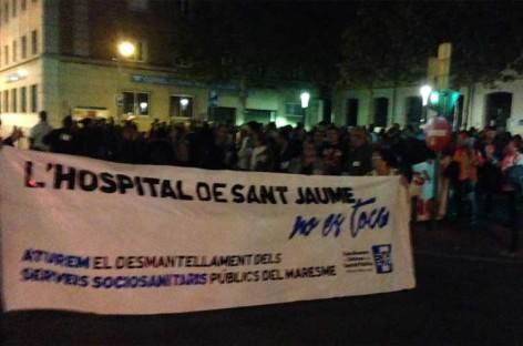 Fin de semana de movilizaciones en defensa de la sanidad pública de Mataró