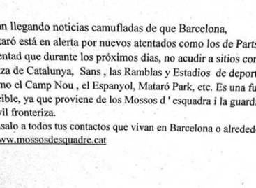 Los Mossos advierten de una falsa alerta terrorista en el centro comercial Mataró Parc