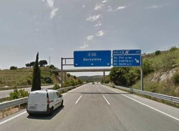 Dos heridos muy graves en un accidente en Sant Pol de Mar