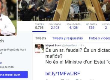 """El alcalde de Premià de Mar califica de """"dictador"""" y """"mafioso"""" al Ministro de Hacienda"""