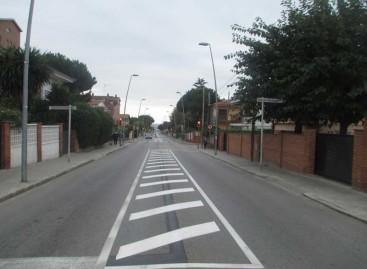 Mejoran los cuatro cruces semaforizados de la BV-5023 en Premià de Mar