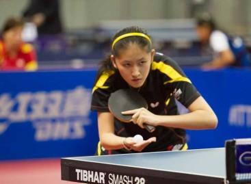 Sofía-Xuan Zhang, del Suris Calella entre las 16 mejores del mundo en tenis mesa
