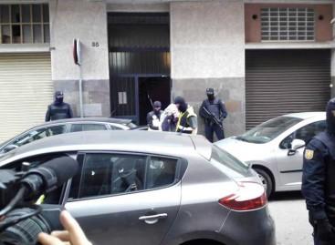 El video de la detención de un presunto miembro de Estado Islámico en Mataró