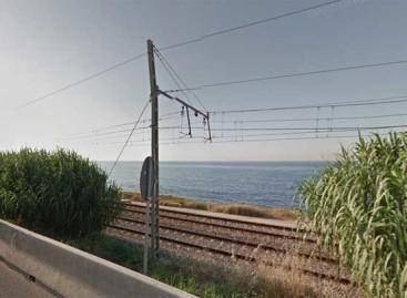 Un atropello mortal corta la R-1 entre Mataró y Arenys de Mar