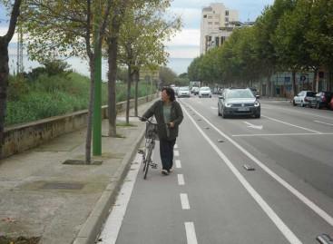 Preservem el Maresme cuestiona que sea viable un carril bici que atraviese toda la comarca