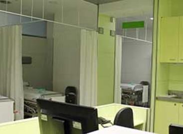 Las urgencias del Hospital de Mataró se refuerzan con 9 boxes de observación
