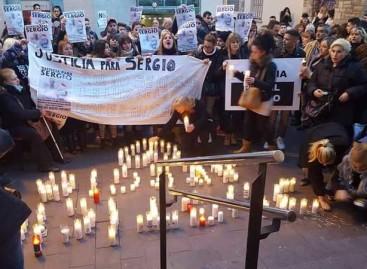 Concentración para pedir justicia para el joven de Montcada en coma tras ser apalizado en Malgrat
