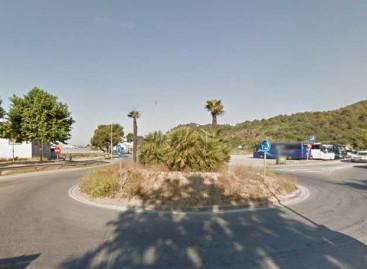 Malgrat triplica la rotonda de la entrada sur al municipio