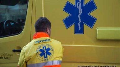 Un motorista de Cabrera de Mar fallece en Riudarenes en un accidente de tráfico