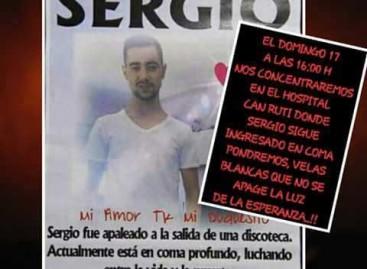 El joven agredido en una discoteca de Malgrat sigue en coma dos meses después