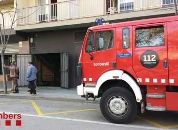 Incendio en la discoteca del Hotel Papi de Malgrat de Mar