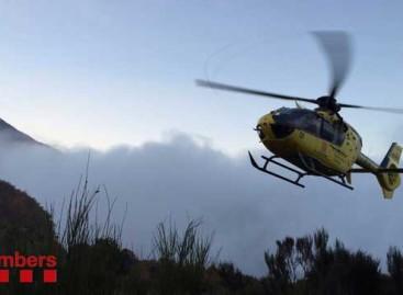 Una vecina de Alella de 73 años rescatada en el Montseny tras fracturarse la pierna