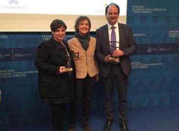 Tiana premiada por su gestión de residuos puntera en España