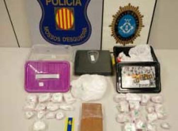 La policía de Mataró incauta 3'5 kilos de cocaína a un vecino de Terrassa