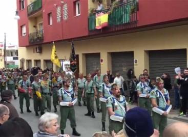El Ayuntamiento de Palafolls estudia las sanciones que impondrá a la Legión por desfilar sin permiso