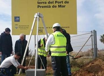 Empiezan las obras del nuevo paseo y espacio comercial del puerto de Premià de Mar