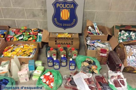 Cae una banda que robaba supermercados y revendía los productos en un establecimiento de 24 horas