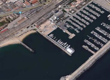 Mataró inaugura una nueva marina para «superyates»