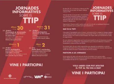 Vilassar de Mar organitza unes jornades informatives sobre el TTIP