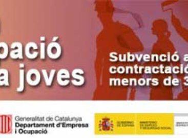 Mataró ofrece a 80 jóvenes la posibilidad de trabajar y formarse durante seis meses