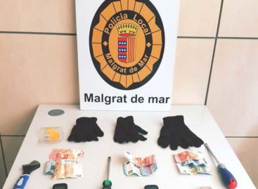 La policía de Malgrat detiene a tres mujeres tras que reventaran un piso y robaran en su interior