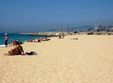 Doce banderas azules para las playas y puertos del Maresme