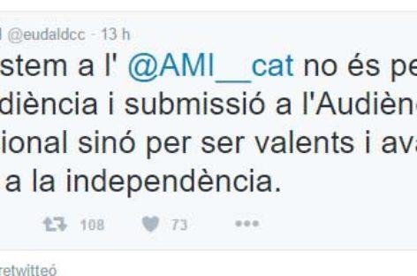 El alcalde de Argentona, en desacuerdo con la presidenta de la AMI sobre la obediencia a la justicia