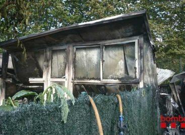 Un incendio afecta parcialmente las instalaciones de un camping de Tordera