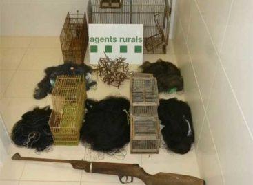 Identificado en Vilassar de Dalt un hombre que envenenaba animales salvajes