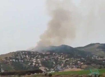 Una negligencia ha provocado el incendio forestal que ha quemado 1'8 hectáreas en Alella
