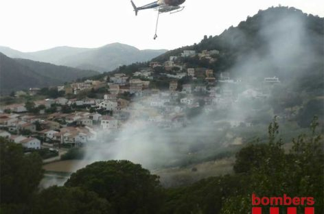 El Maresme ha registrado este año 11 incendios forestales de importancia