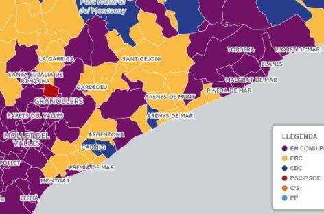 En Comú Podem ganó las elecciones en el Maresme