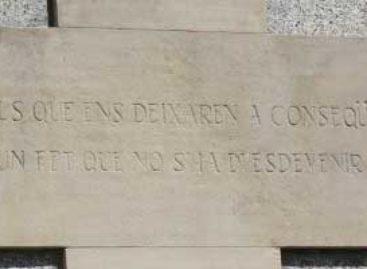 """ERC de Argentona propone que se retire el monumento """"franquista"""" de la iglesia"""
