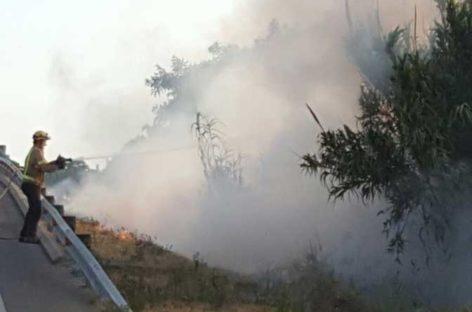 Un atropello mortal en Tordera y un incendio en la carretera de Malgrat paran la R1